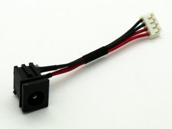 P000423190 Toshiba Tecra R10 R15 PTRB1U PTRB3U Charging Port Connector Power Jack DC IN Cable Harness Wire