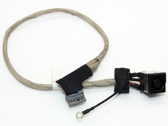 356-0001-6365_A00 Dell Studio 1450 1457 1458 P03G Series PO3G Charging Port Socket Connector Power Jack DC IN Cable Harness Wire