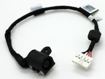G8RN8 0G8RN8 DOH50 D0H50 50.47L02.001/011 Dell Inspiron 15 7537 7000 P36F Charging Port Power Jack DC IN Cable Harness Wire