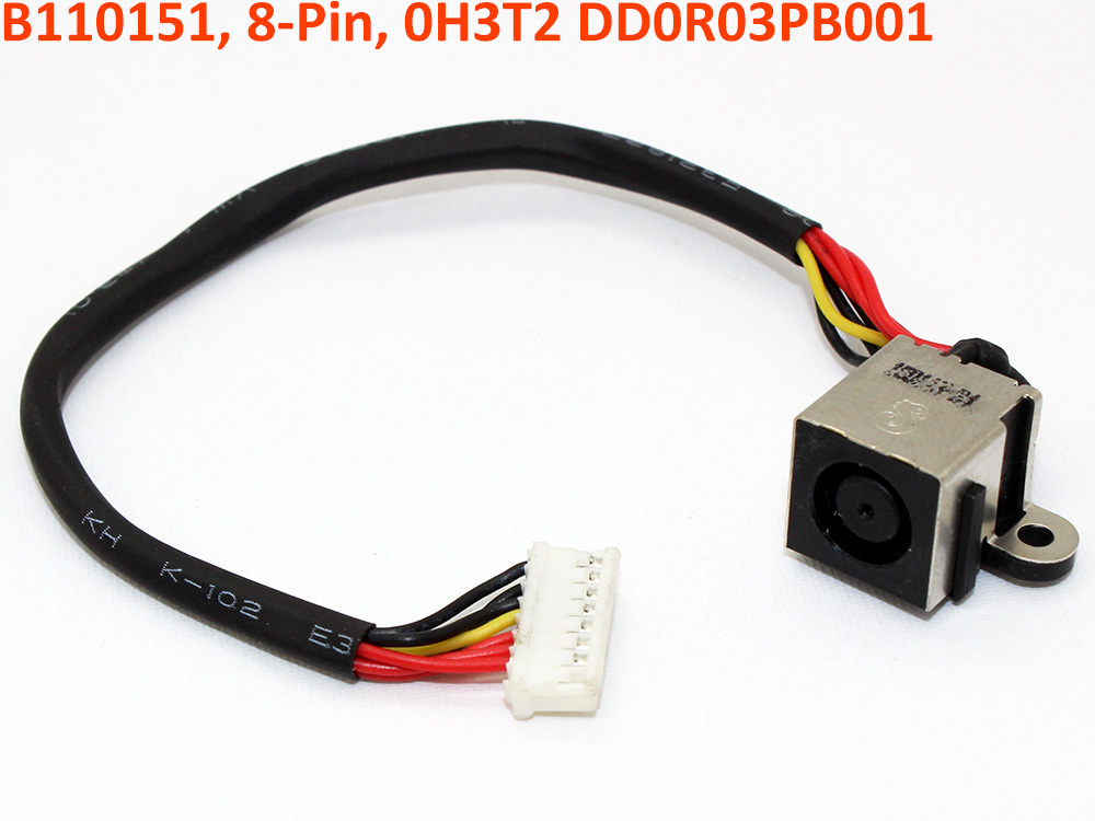 WTVC4 0WTVC4 H3T2 0H3T2 V03/R03 DD0R03PB000 DD0R03PB001 Dell Inspiron 17R N7110 Vostro 3750 Power Jack DC IN Cable Harness Wire