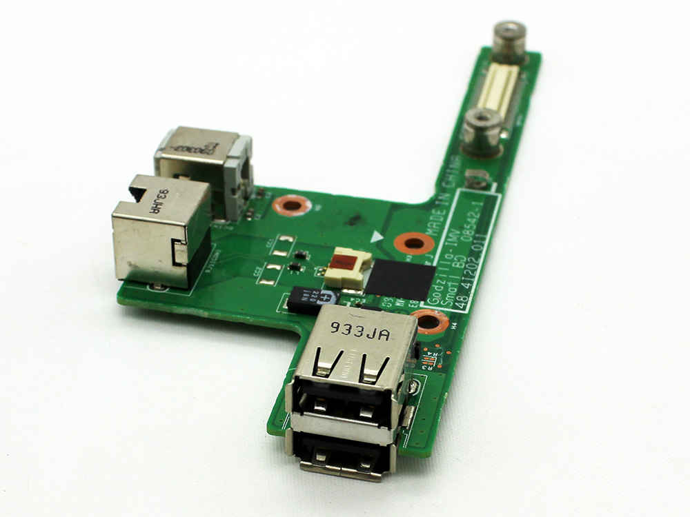 Packard Bell iPower 5000 5254 5264 5305 5541 5542 5624 MIT-CAI01 5642 DC Jack LAN RJ45 USB Port Power Charging PCB Board