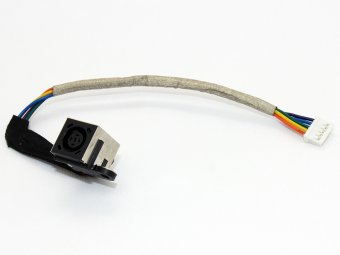 T965H 0T965H Dell Inspiron 1318 Studio XPS 13 1340 M1340 Charging Port Socket Connector Power Jack DC IN Cable Harness Wire