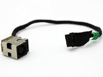 Original DC power jack plug in cable wire for HP dv6t-7000 CTO dv6t-7200 CTO