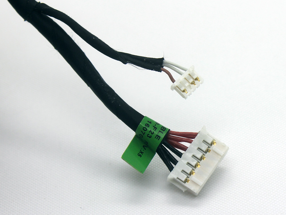 907080-F23 907080-S23 907080-T23 907080-Y23 HP Compaq Power Jack Connector Charging Plug Port DC IN Cable Input Harness Wire