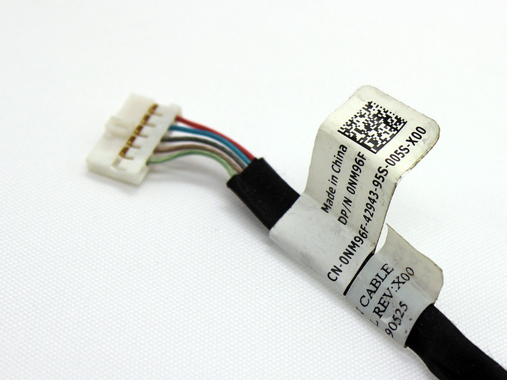 NM96F 0NM96F CN-0NM96F DC30100870L DC301008U00 Dell Inspiron 11Z 1110 P03T PO3T Power Jack Connector Port DC IN Cable Harness