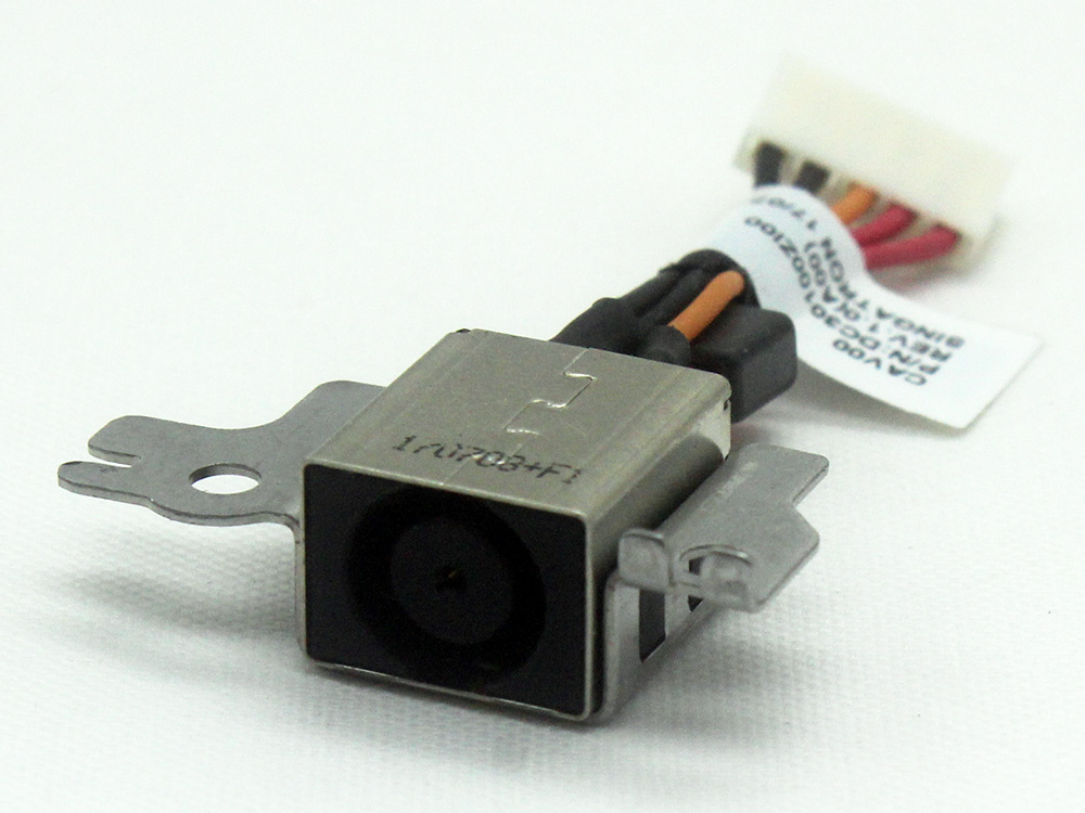 XNJ46 0XNJ46 CAV00 Dell Latitude Chromebook 11 3180 3189 P26T Power Connector Port DC Jack IN Cable Input Assembly