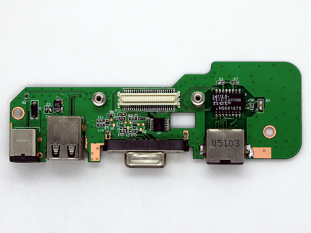 NEW USB VGA-OUT DC IN POWER BOARD FOR DELL 1750 48.4CN01.011 48.4CN10.OSA US