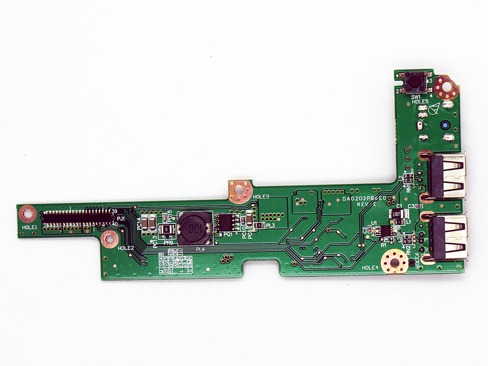 55.AK907.001 55.AHS07.001/004 Acer Aspire 4220 4220G 4320 4520 4520G 4720 4720G 4720Z DC Power Jack USB Port Button Charge Board