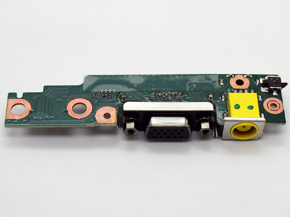 42W8179 42W8188 42W8292 42W8293 42W8188AA Lenovo Thinkpad T400S T410S T410SI DC Power Jack Connector VGA Port IN Charging Board